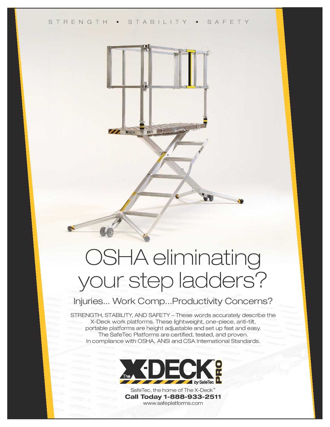 OSHA Step Ladder