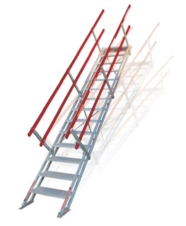 Height Adjustable Self Leveling Stairs